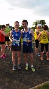 2015-05-26 Orla Timmins & Eoin Callaghan (SOS) winners of ladies & mens races